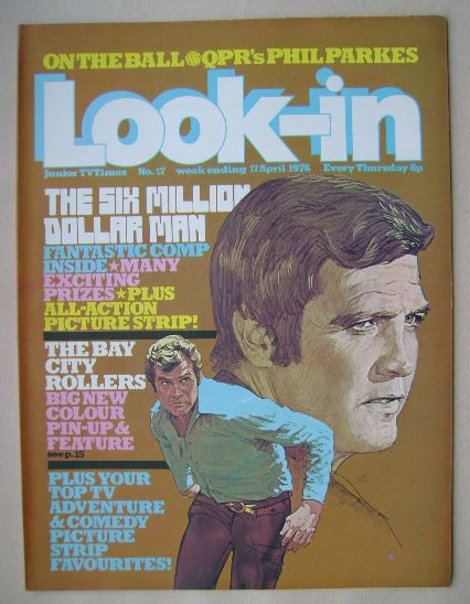 <!--1976-04-17-->Look In magazine - Lee Majors cover (17 April 1976)