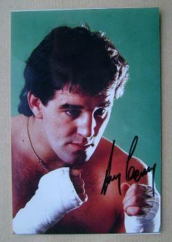 Gerry Cooney autograph