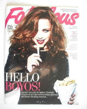 Fabulous magazine - Charlotte Church cover (21 March 2010)