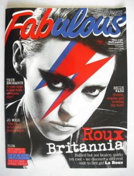 Fabulous magazine - La Roux cover (7 February 2010)