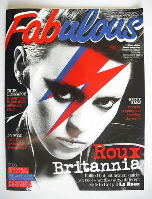 <!--2010-02-07-->Fabulous magazine - La Roux cover (7 February 2010)