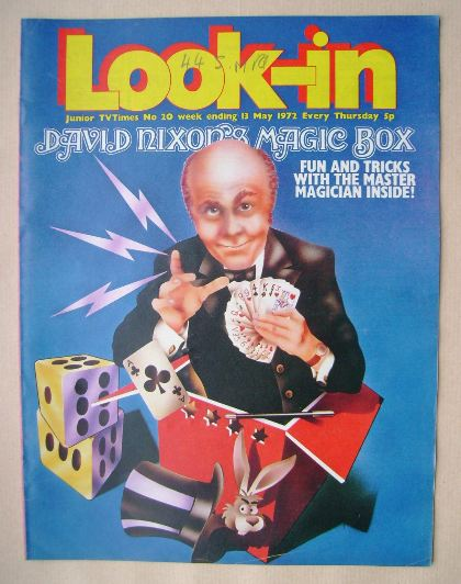 <!--1972-05-13-->Look In magazine - David Nixon cover (13 May 1972)