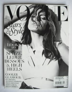 German Vogue magazine - February 2010 - Eva Mendes cover