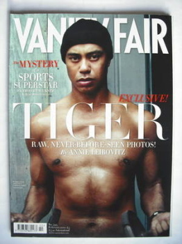 Vanity Fair magazine - Tiger Woods cover (February 2010)