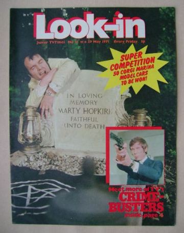<!--1971-05-29-->Look In magazine - Kenneth Cope cover (29 May 1971)