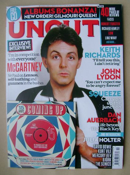 <!--2015-10-->Uncut magazine - Paul McCartney cover (October 2015)