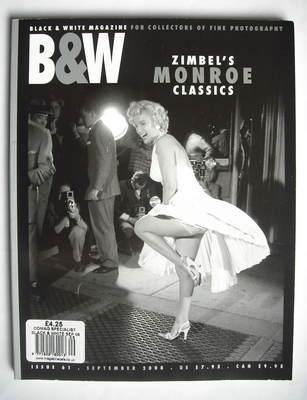 Black and White magazine - Marilyn Monroe cover (September 2008)