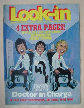 <!--1972-07-29-->Look In magazine - Doctor in Charge cover (29 July 1972)