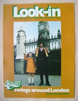 Look In magazine - 13 March 1971