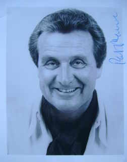 Patrick Macnee autograph