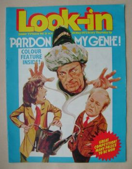 <!--1972-05-20-->Look In magazine - Pardon My Genie cover (20 May 1972)