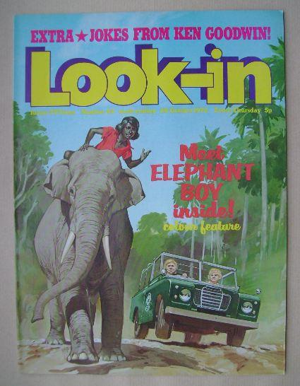 <!--1972-10-28-->Look In magazine - 28 October 1972
