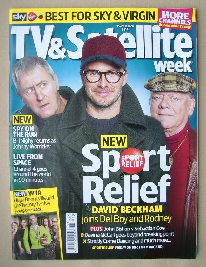 <!--2014-03-15-->TV&Satellite Week magazine - Nicholas Lyndhurst, David Bec
