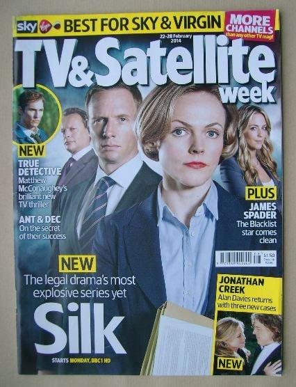 <!--2014-02-22-->TV&Satellite Week magazine - Silk cover (22-28 February 20