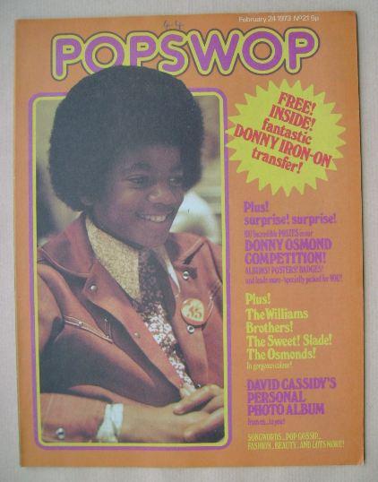 <!--1973-02-24-->Popswop magazine - 24 February 1973