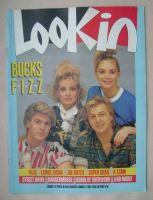<!--1985-05-11-->Look In magazine - Bucks Fizz cover (11 May 1985)