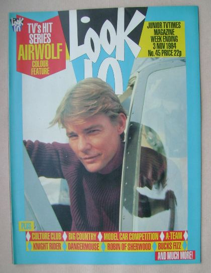 <!--1984-11-03-->Look In magazine - Jan-Michael Vincent cover (3 November 1