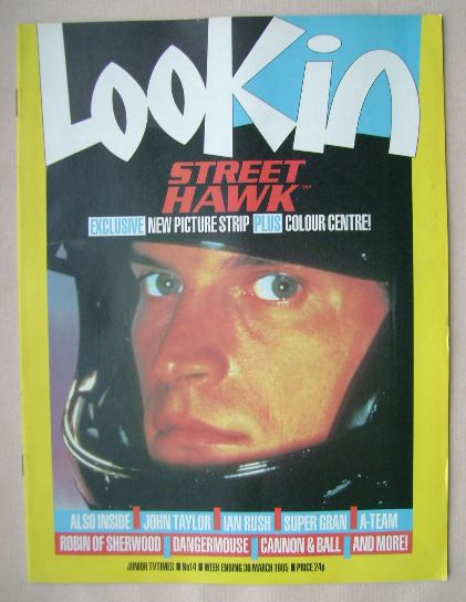 <!--1985-03-30-->Look In magazine - Rex Smith cover (30 March 1985)