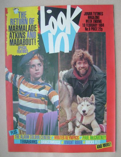<!--1984-02-18-->Look In magazine - Charlotte Coleman / Matthew Kelly cover