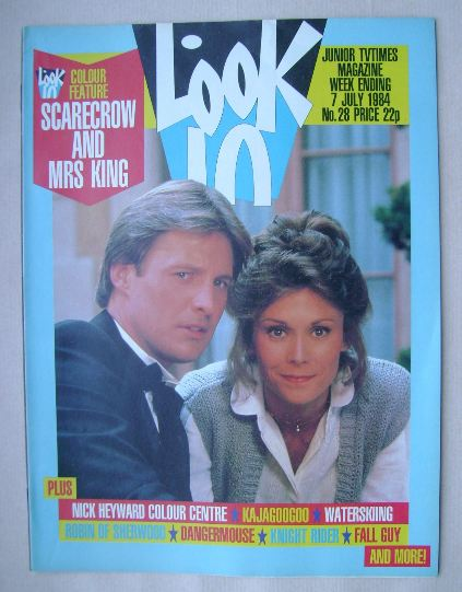 <!--1984-07-07-->Look In magazine - Bruce Boxleitner and Kate Jackson cover