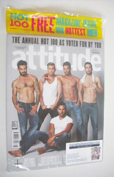 <!--2015-08-->Attitude magazine - The Annual Hot 100 cover (August 2015)