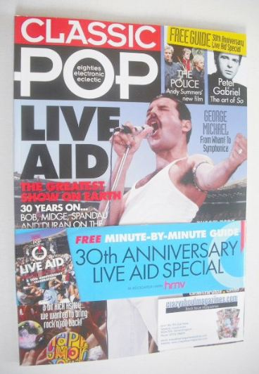 <!--2015-08-->Classic Pop magazine - Live Aid cover (August/September 2015)