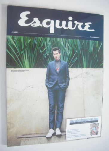 <!--2015-06-->Esquire magazine - Mark Ronson cover (June 2015 - Subscriber'