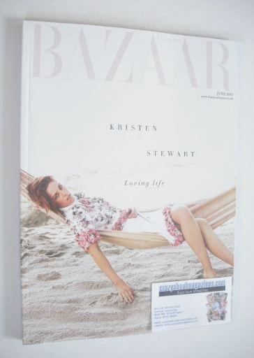 <!--2015-06-->Harper's Bazaar magazine - June 2015 - Kristen Stewart cover