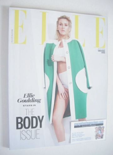 <!--2015-07-->British Elle magazine - July 2015 - Ellie Goulding cover (Sub