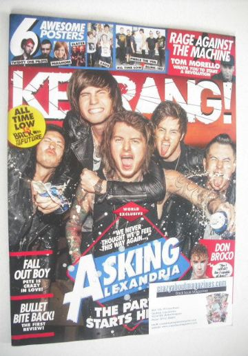 <!--2015-08-01-->Kerrang magazine - Asking Alexandria cover (1 August 2015