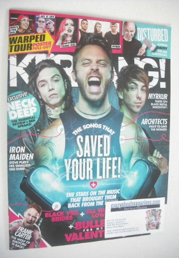 <!--2015-08-15-->Kerrang magazine - The Songs That Saved Your Life cover (1