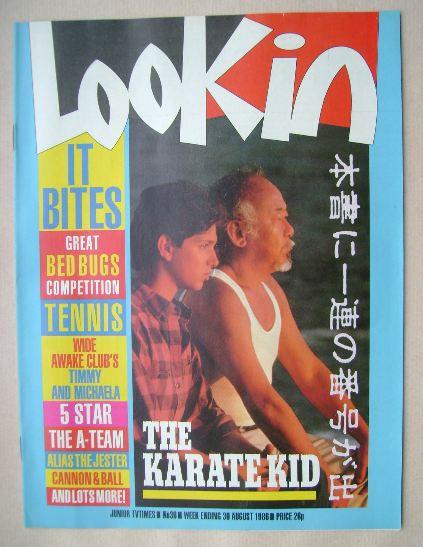 <!--1986-08-30-->Look In magazine - Ralph Macchio and Noriyuki