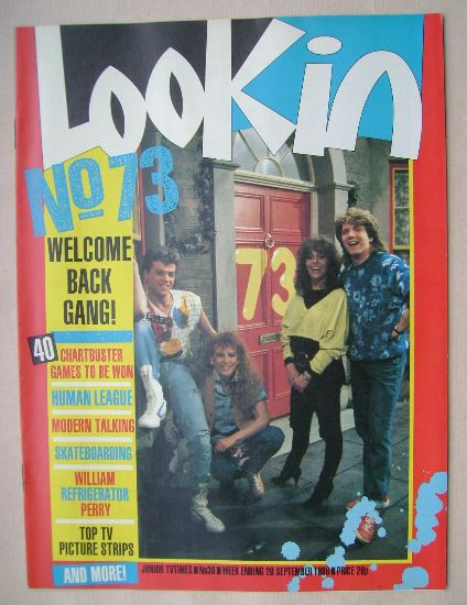 <!--1986-09-20-->Look In magazine - No. 73 cover (20 September 1986)