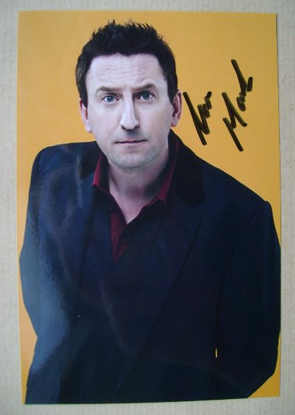 Lee Mack autograph (hand-signed photograph)