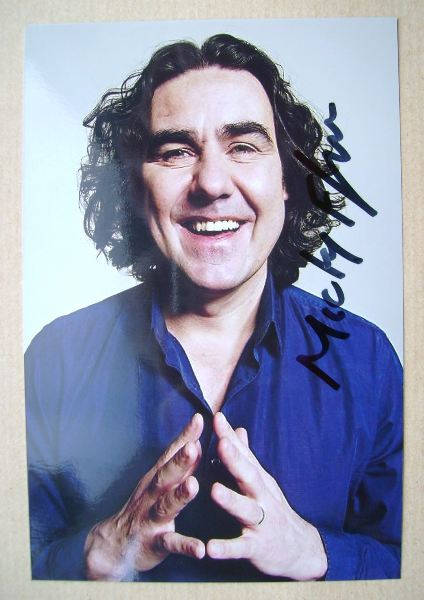 Micky Flanagan autograph