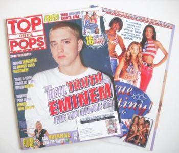 Top Of The Pops magazine - Eminem cover (September 2001)
