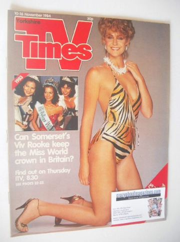 <!--1984-11-10-->TV Times magazine - Vic Rooke cover (10-16 November 1984)