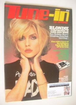 Tune-In magazine - Debbie Harry cover (Spring 1980)