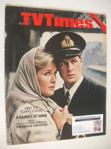 <!--1970-11-28-->TV Times magazine - A Family At War cover (28 November - 4