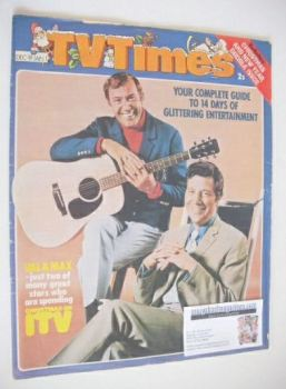 TV Times magazine - Val Doonican and Max Bygraves cover (19 December 1970 - 1 January 1971)