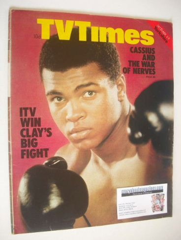 <!--1970-12-05-->TV Times magazine - Muhammad Ali cover (5-11 December 1970