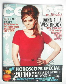 Celebs magazine - Danniella Westbrook cover (10 January 2010)