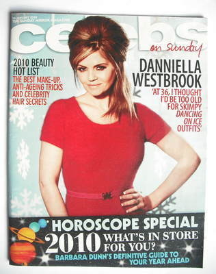<!--2010-01-10-->Celebs magazine - Danniella Westbrook cover (10 January 20
