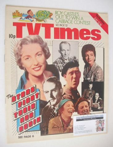 <!--1975-07-12-->TV Times magazine - The Stars Fight Their War Again cover