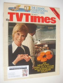 TV Times magazine - Wendy Craig cover (5-11 July 1975)