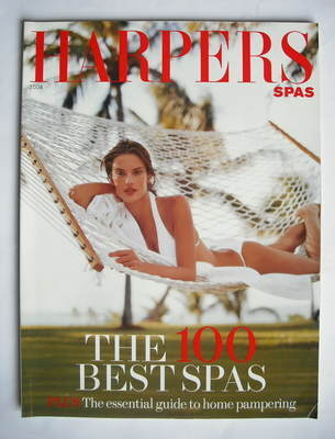 Harpers & Queen supplement - The 100 Best Spas 2004 (Allesandra Ambrosio co