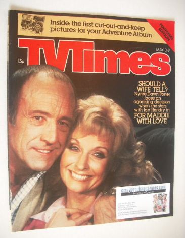 <!--1980-05-03-->TV Times magazine - Nyree Dawn Porter and Ian Hendry cover