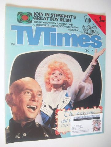 <!--1979-12-01-->TV Times magazine - The Royal Variety Show cover (1-7 Dece