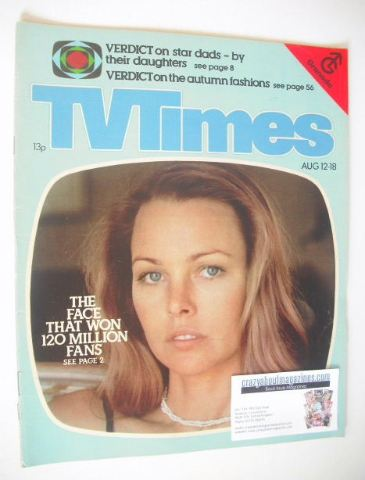 <!--1978-08-12-->TV Times magazine - Michelle Phillips cover (12-18 August