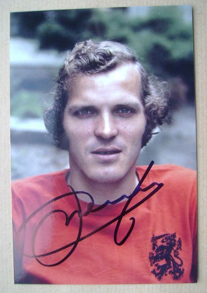 Willy van de Kerkhof autograph